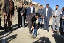احداث دبستان 6 کلاسه در روستای عیسی آباد