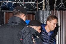 رهبر مخالفان روسیه از زندان آزاد نشده بازداشت شد