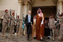 خوش رقصی وزیر دفاع آمریکا برای آلسعود
