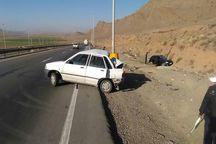 وضعیت مصدوم تصادف 2 خودرو در فیروزکوه وخیم است