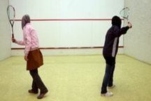 مسابقات رنکینگ اسکواش بانوان در مشهد