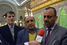 استاندار نجف اشرف به مقام شامخ امام راحل ادای احترام کرد
