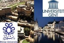 دانشگاه های شیراز و گنت بلژیک مدرک مشترک دکترا اعطا می کنند