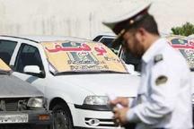 توقیف خودرویی با 78 میلیون ریال خلافی در نهاوند