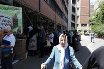 شرکت همسر دکتر شریعتی در انتخابات+عکس