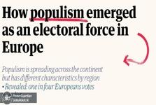 چگونه پوپولیست ها نظم سیاسی حاکم بر اروپا را به چالش کشیده اند؟