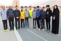 دونده های نابینای همدان عازم بازی های پاراآسیایی جوانان شدند