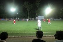 پایان مرحله مقدماتی مسابقات فوتبال پیشکسوتان گیلان