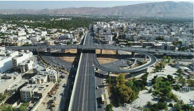 تقاطع سه سطحی میدان معلم شیراز،سه ماه محدودیت ترافیک دارد