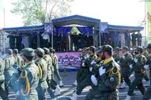 برگزاری مراسم رژه نیروهای مسلح با حضور نماینده ولیفقیه و استاندار گیلان