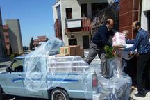 10 محموله کمک های مردمی قزوین به پلدختر ارسال شد