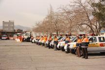 57 تیم راهداری سیستان و بلوچستان همزمان با نوروز فعال شدند