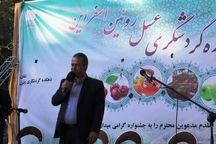 جشنواره گردشگری عسل در رویین اسفراین برگزار شد