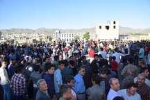 جشن پیروزی دکتر روحانی در کامیاران برگزار شد