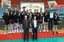 آذربایجان غربی قهرمان مسابقات والیبال مردان کارمند کشور شد