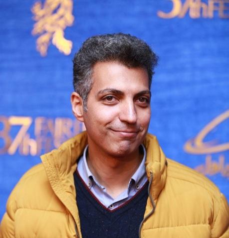 عادل فردوسی روی فرش قرمز جشنواره+ عکس