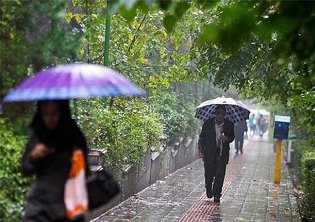افزایش ابر و بارندگی در گیلان از عصر امروز