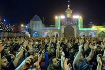 گردهمایی عزاداران مسلمیه در حرم عبدالعظیم (ع) برگزار شد