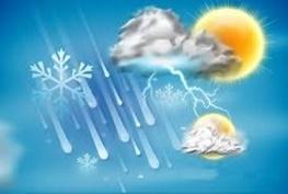 بارش تگرگ و رگبار شدید باران از امروز در همدان