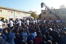 594 هزار دانش آموز آذربایجان غربی در مانور زلزله شرکت کردند