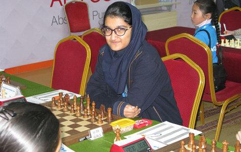 تساوی ارزشمند علی نسب برابر شطرنج باز شماره پنج زنان جهان