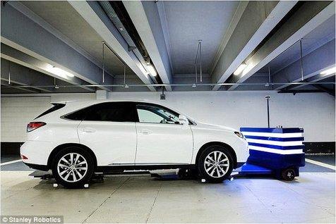 پارک خودروی خود را به این ربات بسپارید