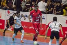 تیم رامک شیراز در فوتسال دسته یک سر انجام بُرد