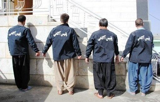 متلاشی شدن باند سارقان حرفهای احشام در بوئین زهرا