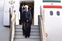 بازدید رئیسجمهور از مناطق سیل زده خوزستان  شرکت در نشست ستاد بحران استان