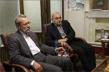 پیام تبریک استاندار قم به علی لاریجانی