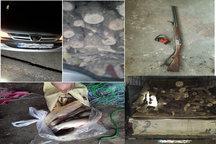 ۷ نفر متخلف محیط زیست در شهرستان کیار دستگیر شدند