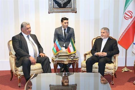 وزیر ورزش جمهوری آذربایجان با صالحی امیری دیدار کرد+ عکس
