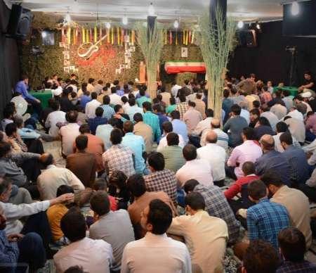 اجتماع بزرگ مدافعان حرم در یزد