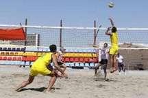 حضور والیبالیست هرمزگانی در اردوی تیم ملی والیبال ساحلی