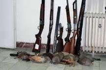 دستگیری 317 شکارچی متخلف در اردبیل