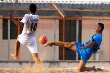 لیگ برتر فوتبال ساحلی  پیام کویر اردکان از پارس جنوبی بوشهر شکست خورد