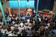 محفل انس با قرآن با حضور اساتید، دانشجویان و کارکنان دانشگاه آزاد اسلامی