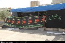شهرهای شمالی خوزستان حال و هوای محرم به خود گرفتند