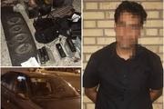 سارقان پارکینگ مرز چذابه دستگیر شدند