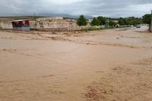 سیل موجب آبگرفتگی در برخی مناطق خراسان شمالی شد