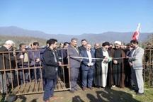 افتتاح یک پروژه کشاورزی در میر محله ماسال