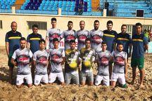 ملوان بندرگز با معجزه در لیگ برتر فوتبال ساحلی میماند