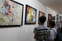 نمایشگاه نقاشی در مهاباد گشایش یافت