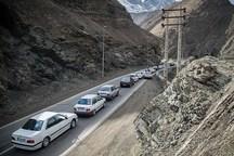 محدودیت ترافیکی درجاده کرج- چالوس اجرامی شود