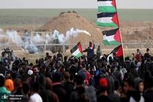 تصاویر/ چهل و هشتمین راهپیمایی بزرگ بازگشت در نوار غزه