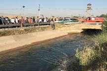 کانال آب در قزوین 2 قربانی گرفت