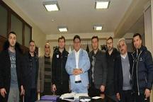 اعضای کادر فنی جدید تیم تراکتورسازی قرارداد خود را امضاء کردند