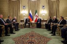 روحانی: روسیه دوست، همسایه و شریک راهبردی ایران است/ نقش روسیه در تحکیم و پایداری برجام نیز موثر است/ همکاری ایران و روسیه تا پایان مبارزه با تروریسم در سوریه ضروری است