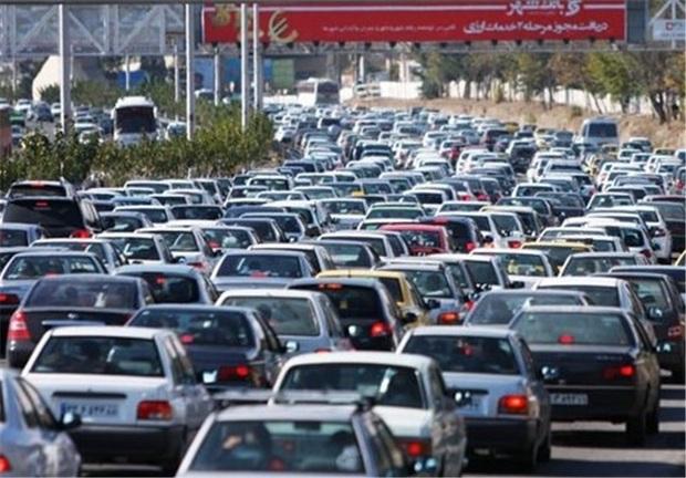 جاده های بزرگراهی البرز پر ترافیک  است