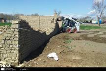 2 مورد ساخت و ساز غیرمجاز در ورامین تخریب شد